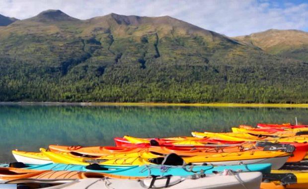 Anchorage Alaska Tourist Board kayaking