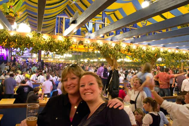 Volksfest beer hall